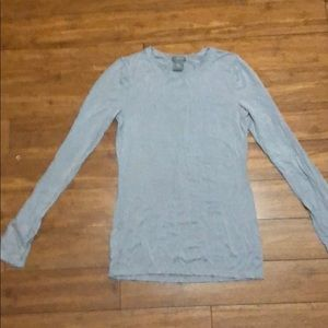 Ann Taylor Long Sleeve Fitted T-SHIRT